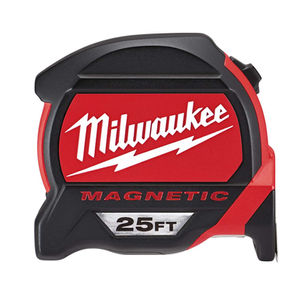 Milwaukee 25 ft w magnetic tape measure.