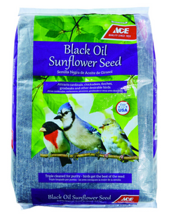 Ace Songbird Black Oil Sunflower Seed Wild Bird Food 10 lb.