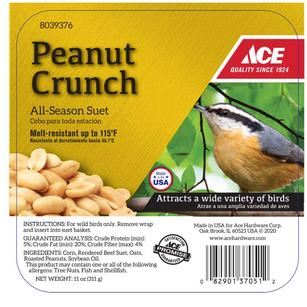 Ace Peanut Crunch Assorted Species Suet