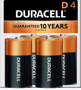 Roll Over to Zoom Duracell Coppertop D