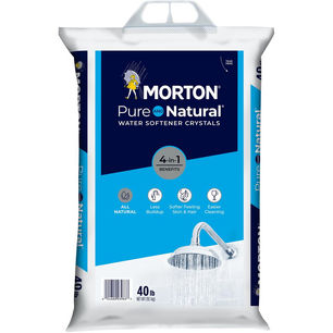 Morton Salt Pure And Natural Water Softe