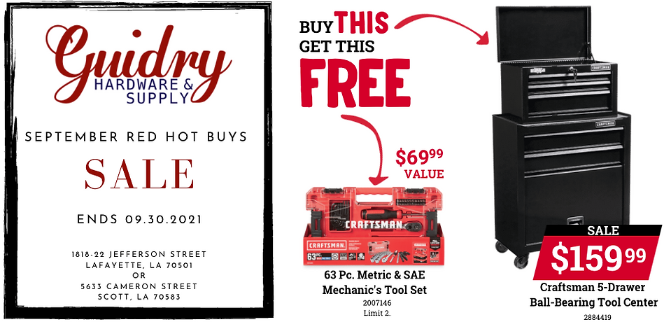 Buy This Craftsman Tool Center