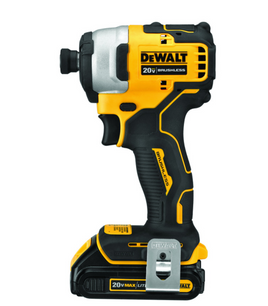 DeWalt Max 20 volt 1/4 in. Cordless Brushless Impact Driver Kit (Battery & Charger)
