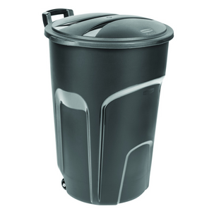 Rubbermaid 32 gal. Resin Wheeled Garbage Can Lid Included