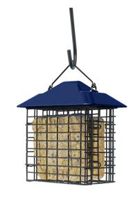 Woodlink Metal/Plastic Double Suet Basket Blue