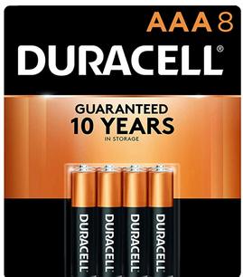 Duracell Coppertop AAA Alkaline Batterie