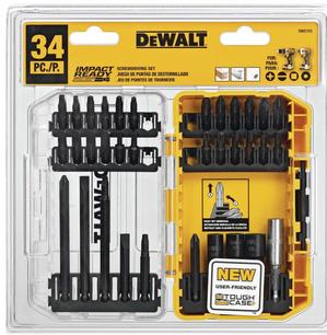 DeWalt Impact Ready Drive Bit Set Steel