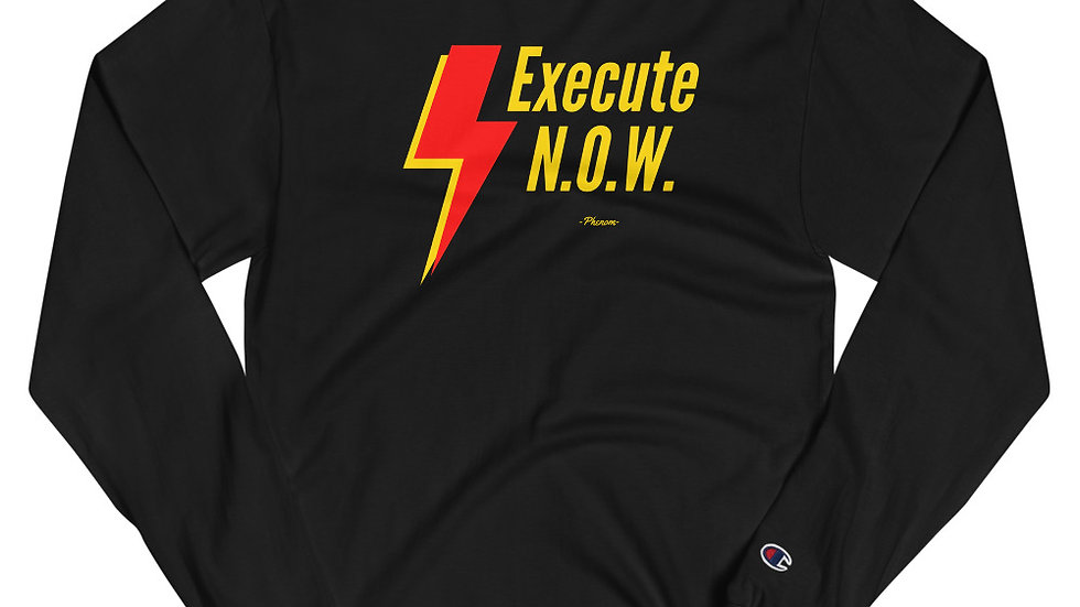 Limited Edition No Opportunity Wasted (N.O.W.) Champion Brand