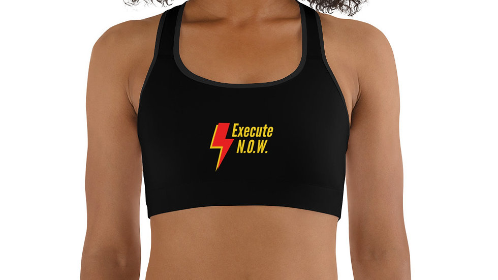 LIMITED EDITION No Opportunity Wasted (N.O.W.) Sports bra