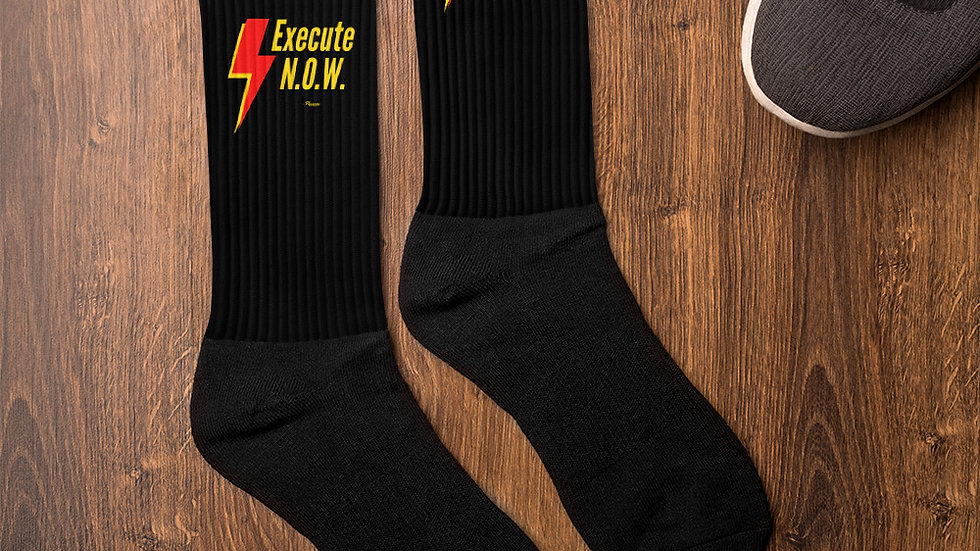 Limited Edition No Opportunity Wasted (N.O.W.)  Socks