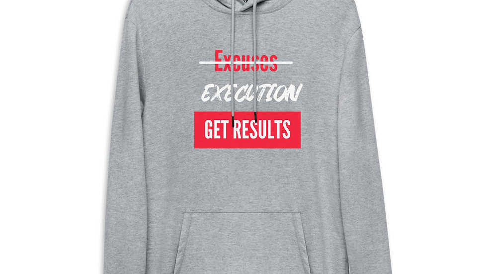 Limited Edition Execution Get Results Unisex Lightweight Hoodie