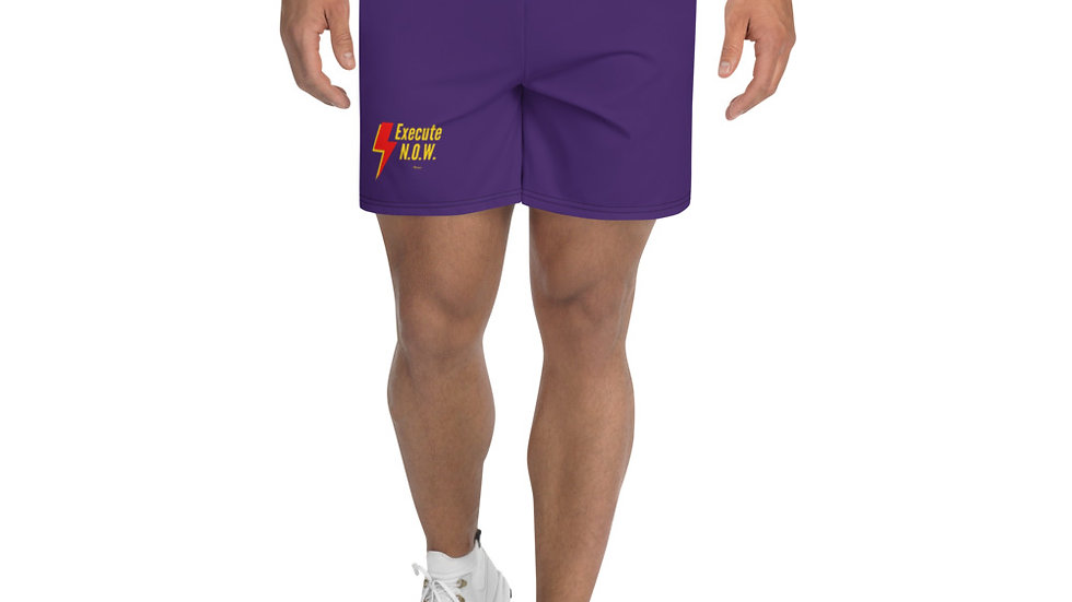 LIMITED EDITION No Opportunity Wasted (N.O.W.) Men's Athletic Long Shorts