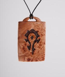 Warcraft pendent , Horde symbol