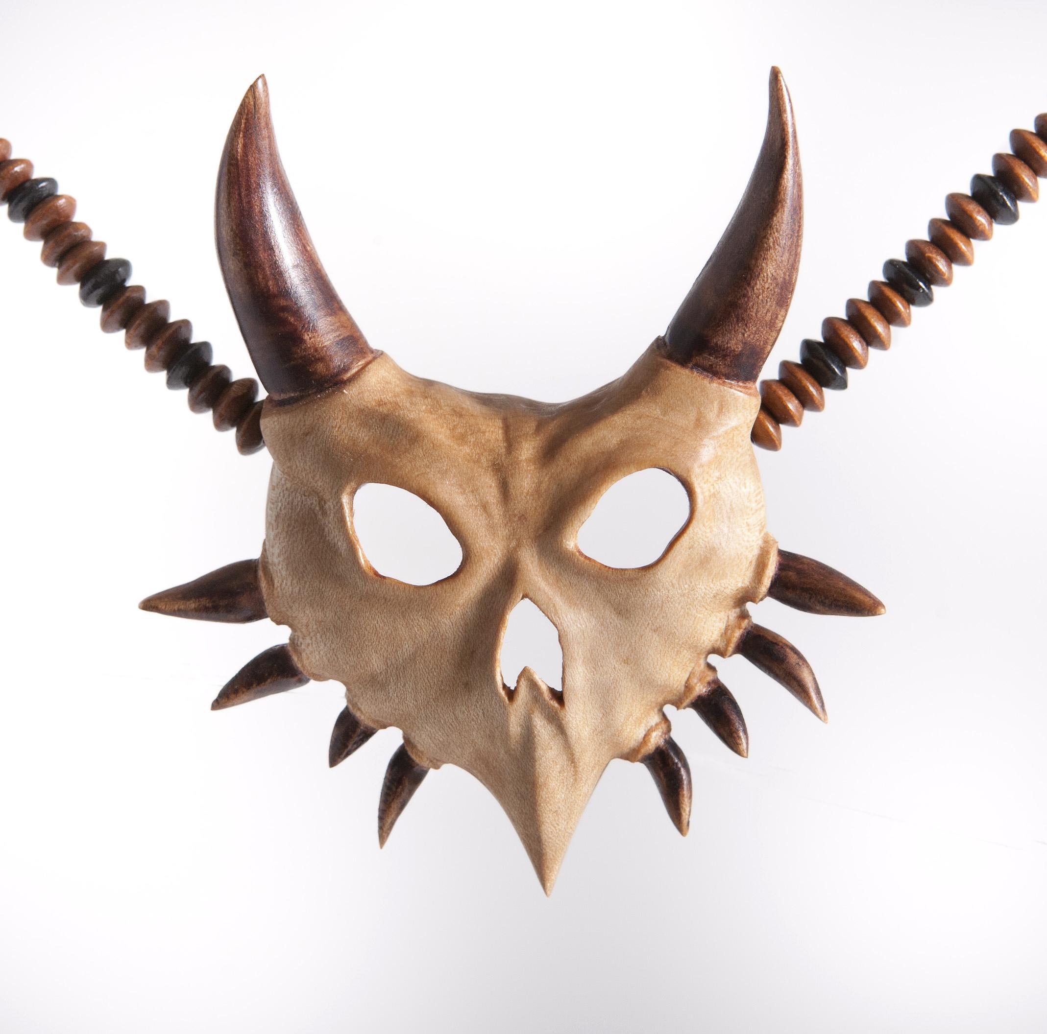 Majora's mask skull pendent