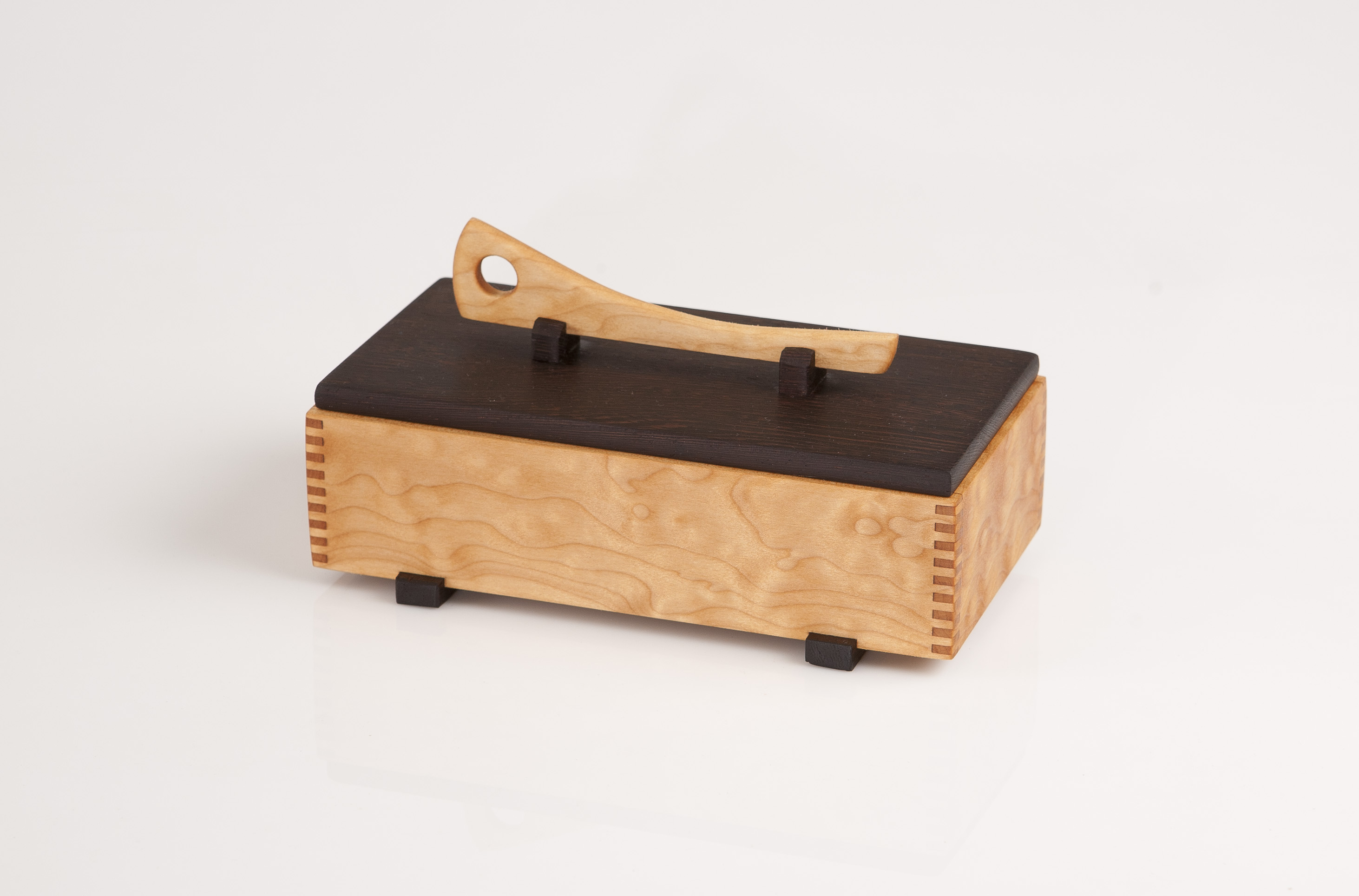Jewelry box , Quilted Maple