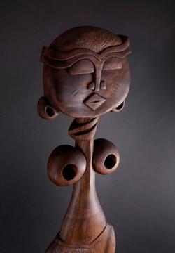 African Comb , wooden