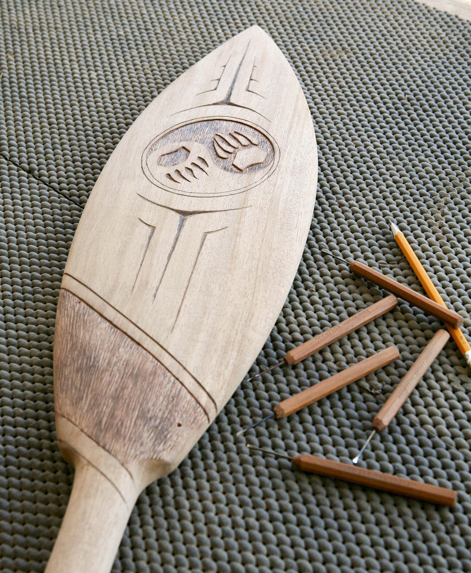 Haida paddle