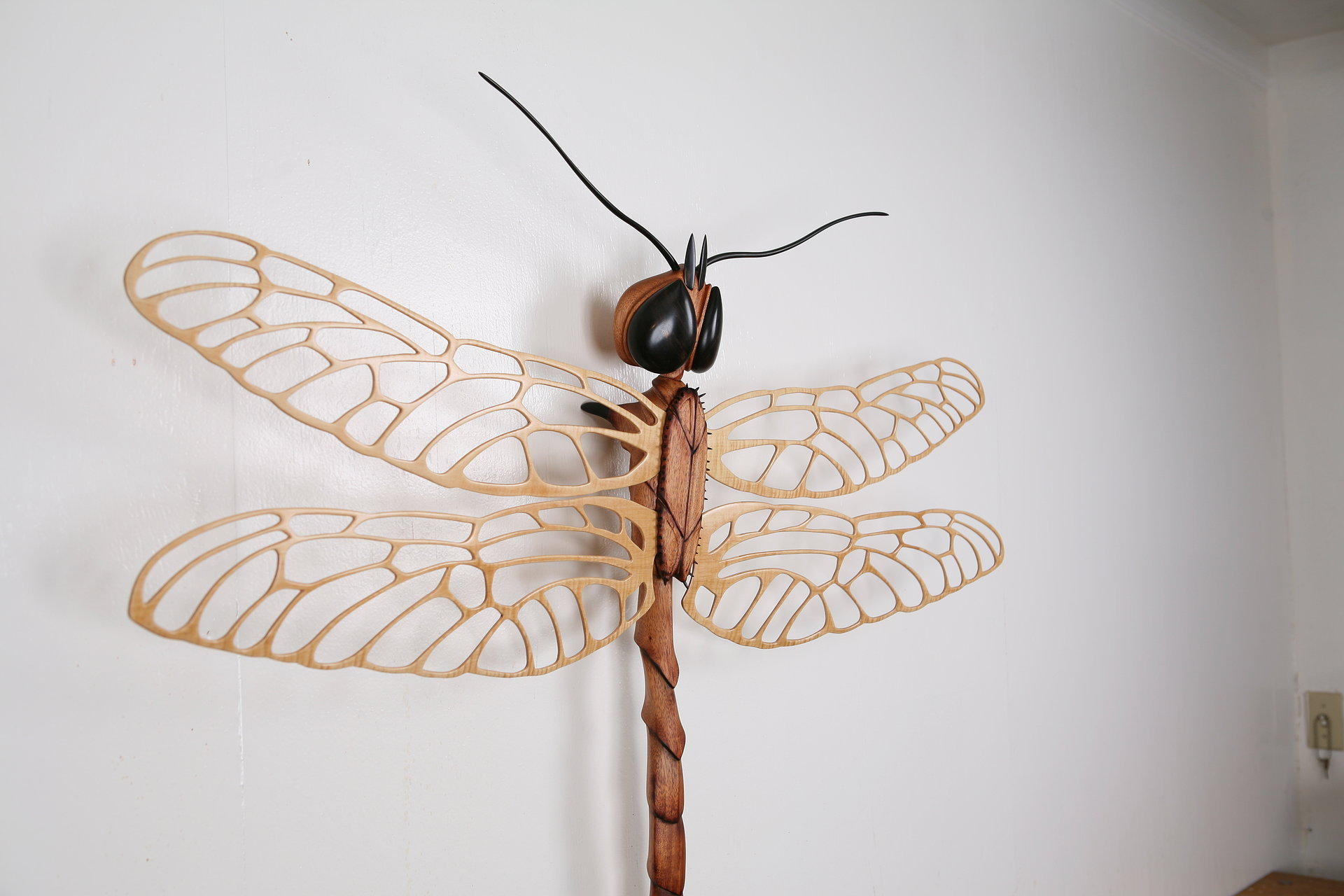 Dragonfly Sculpture ,  Wood