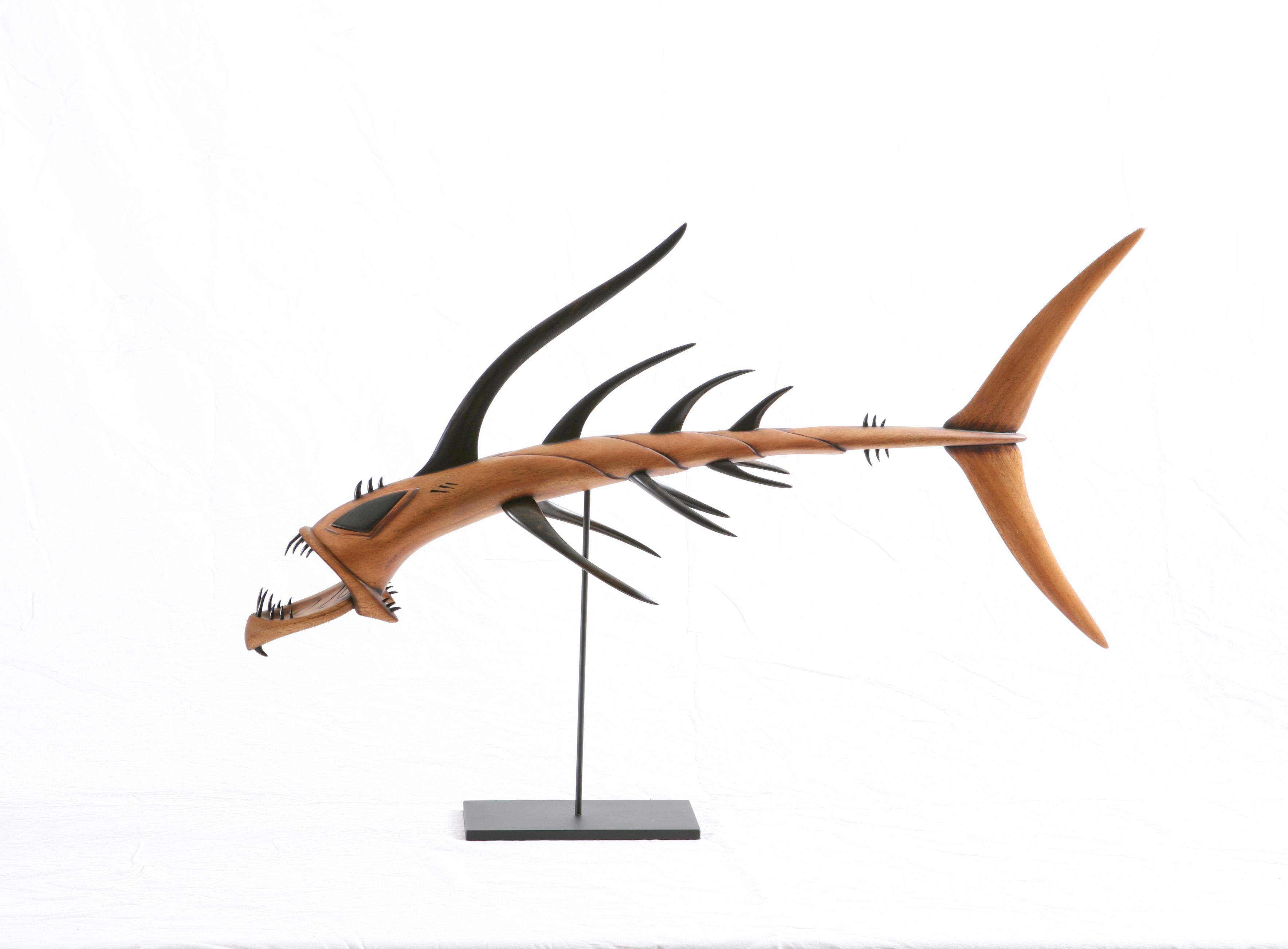 Dragon Fish Sculpture
