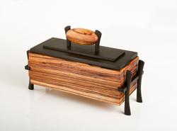 Zebrawood Jewelry box / Keepsake box