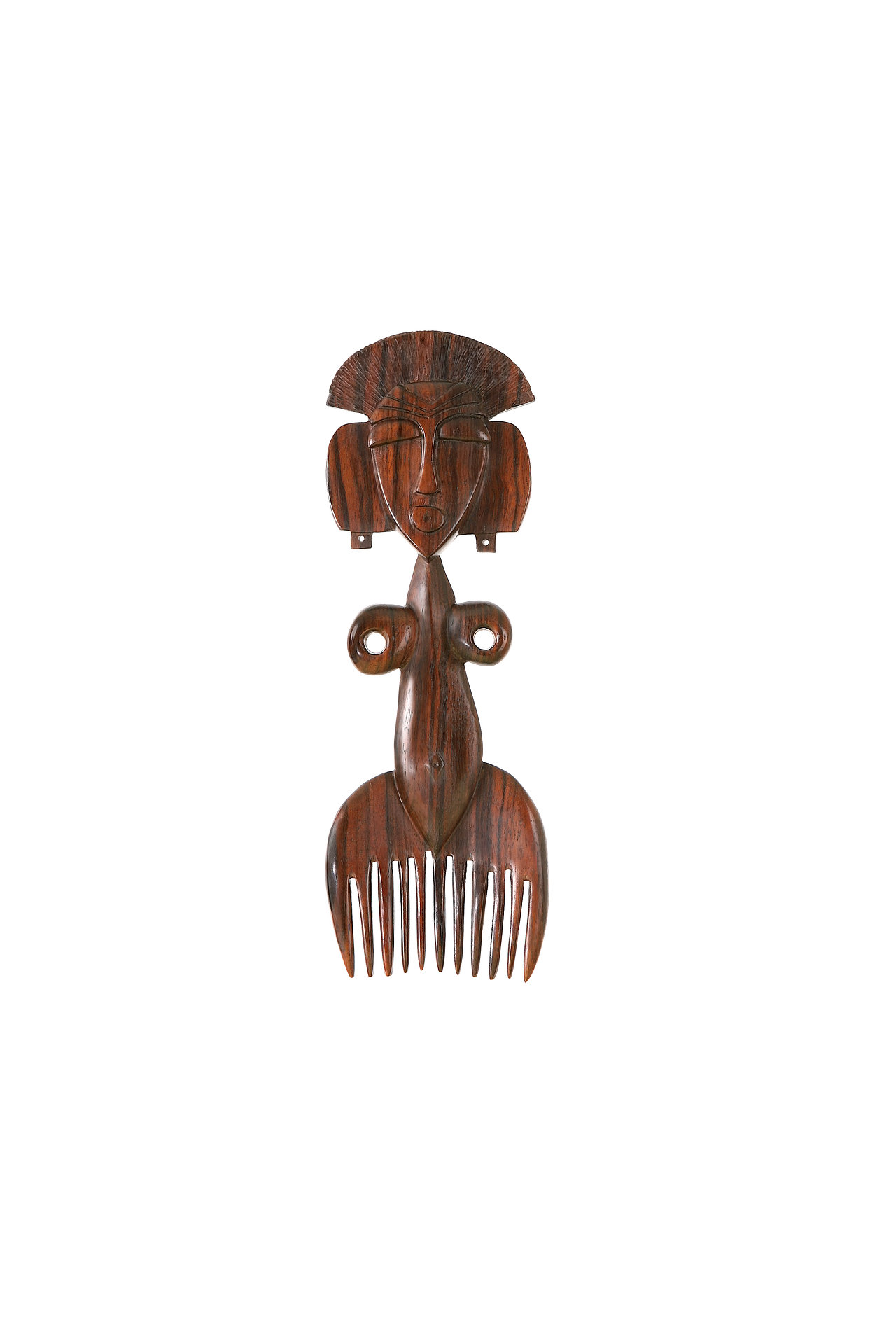 African wood comb
