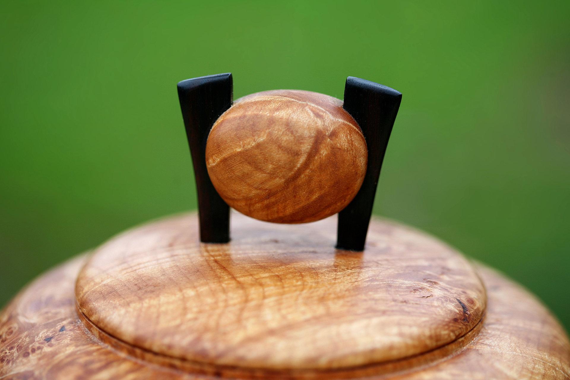 Asian style wood turning
