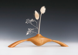 Weedpot vase , Modern wood sculpture