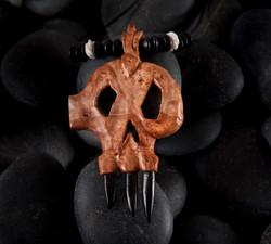Warcraft pendent , Horde skull