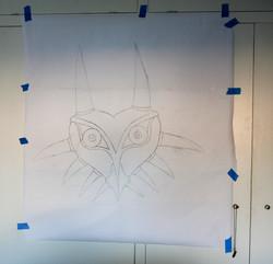 Majora's mask shop drawing