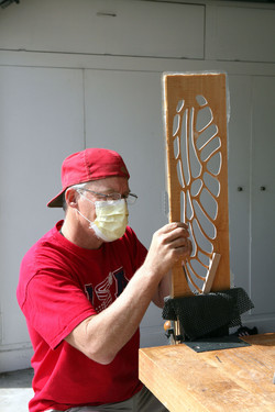 Dragonfly Wing carving