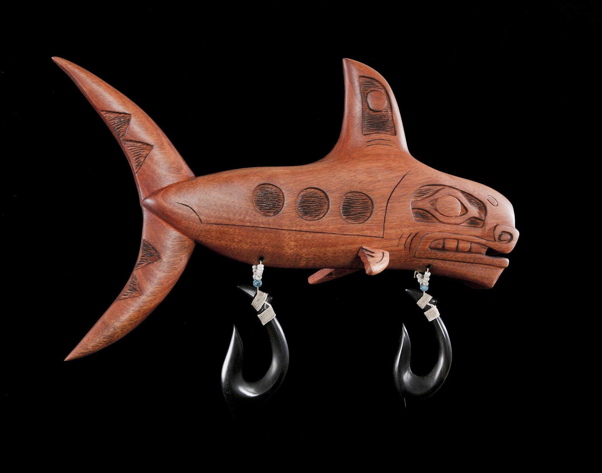 Haida sculpture , Orca