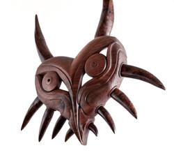 Haida sculpture / Majora's mask