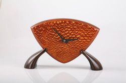 Wooden Clock , Lacewood
