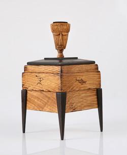 Tiki Jewelry box , Hawaiian Style
