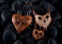 3 Majora's mask in wood