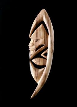 Yipwon Spirit Figure , Zebrawood