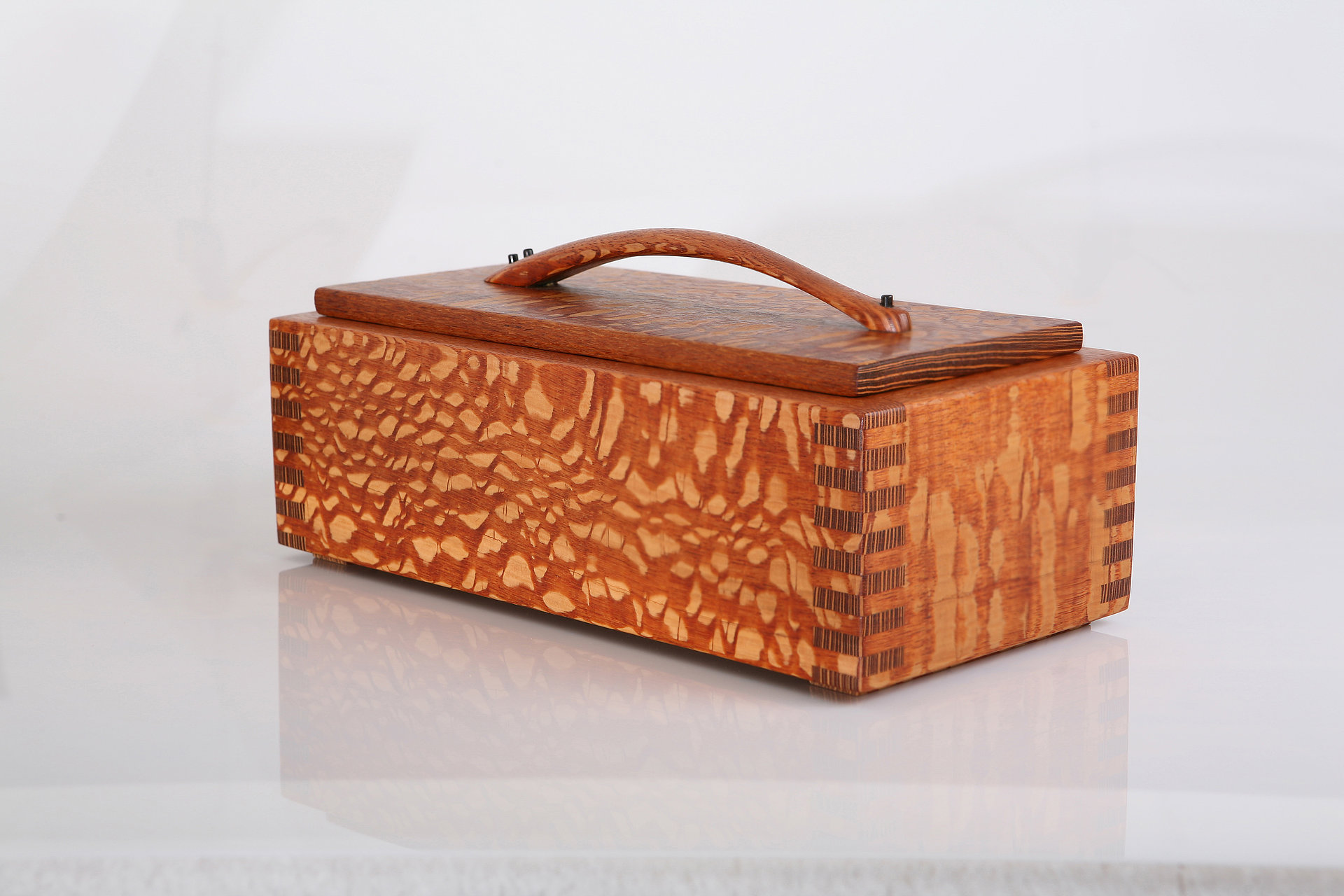 Lacewood jewelry box / keepsake box