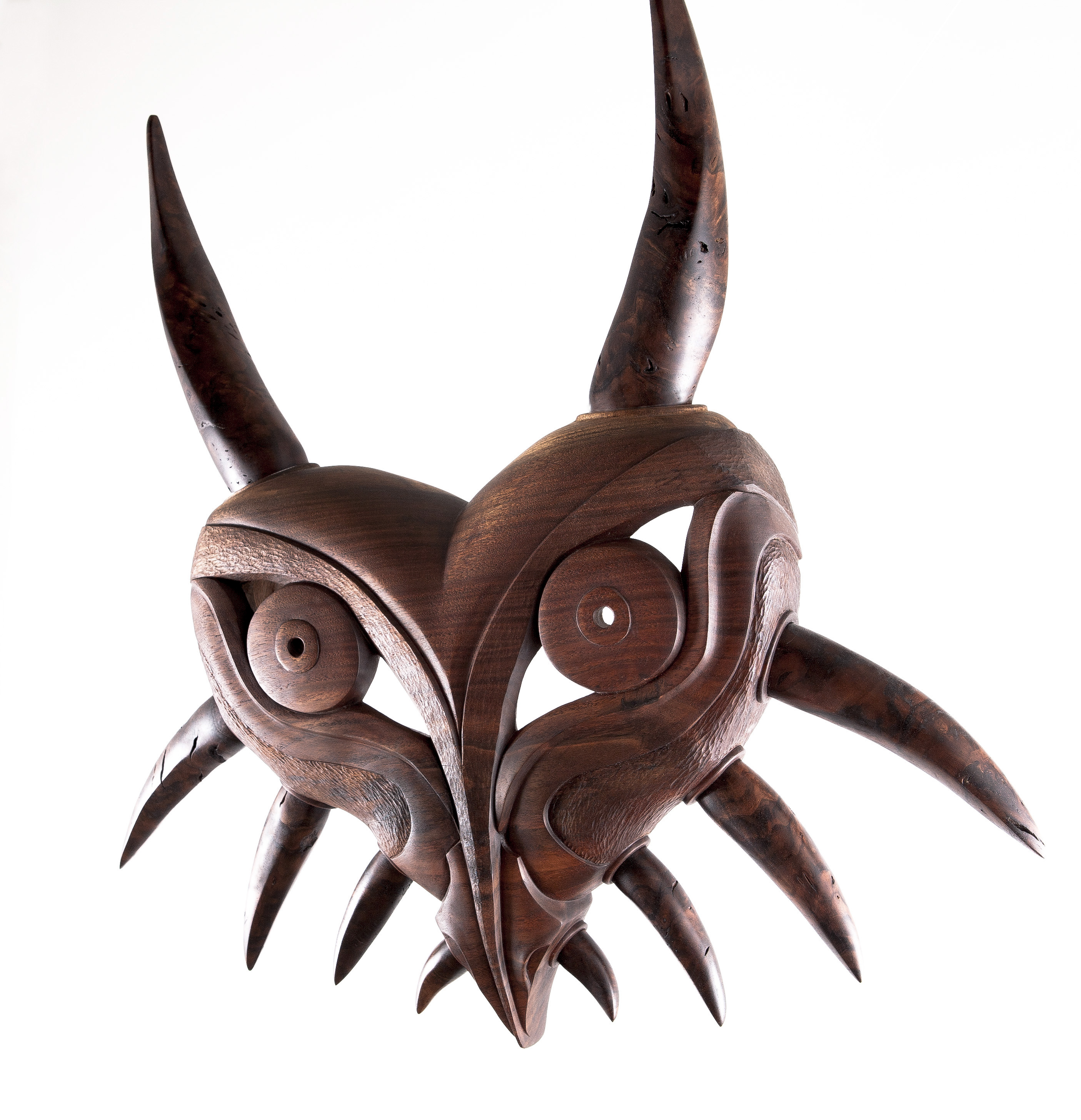 Haida style Majora's mask