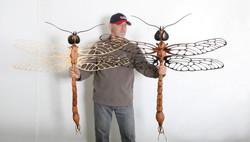 Dragonfly Sculpture
