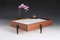 Table Top Zen Garden , Black Walnut