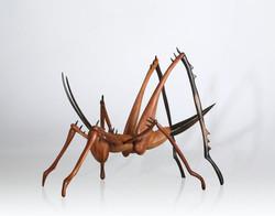 Cricket Sculpture