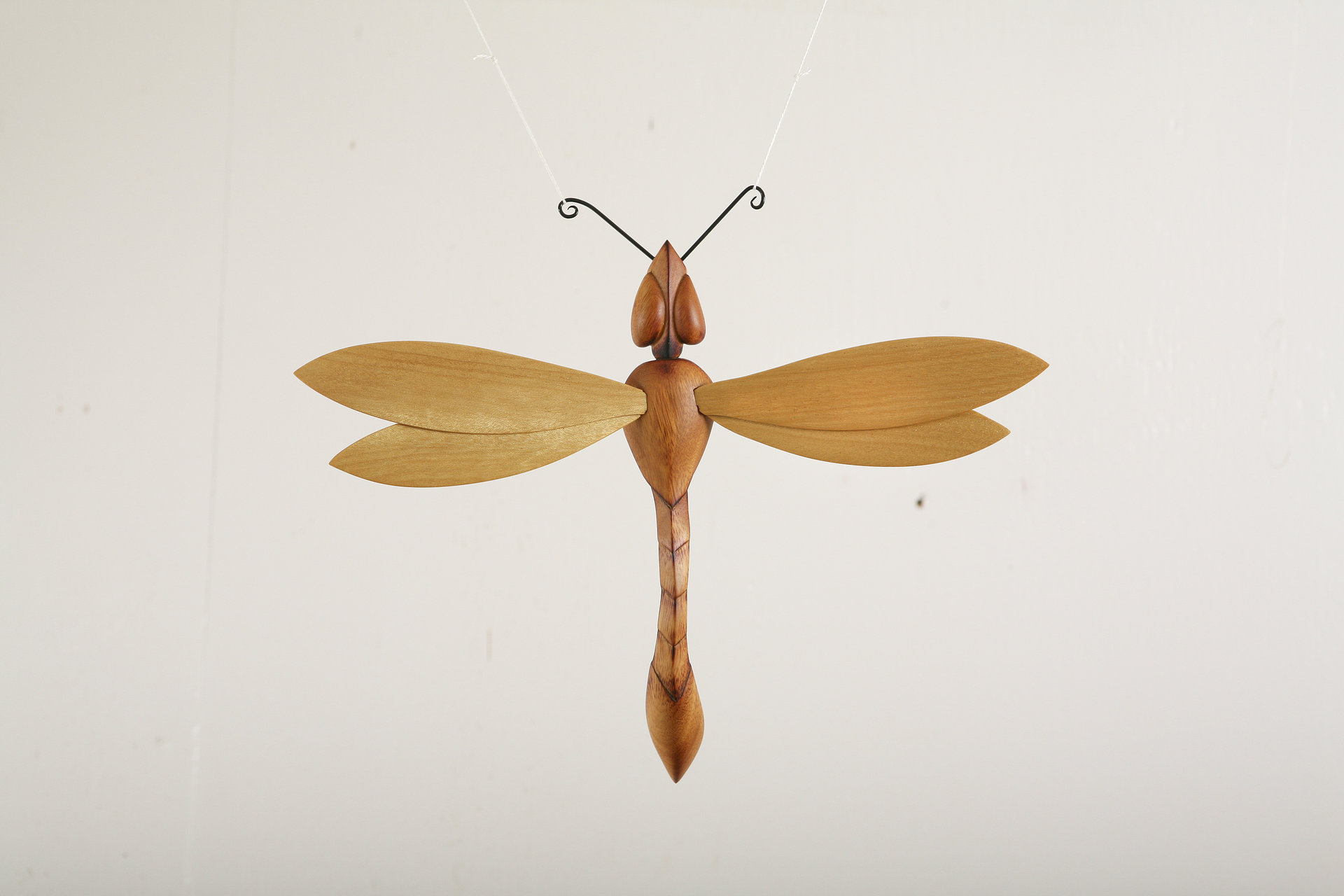 Wooden Dragonfly Sculpture