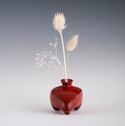Twig pot , incense holder