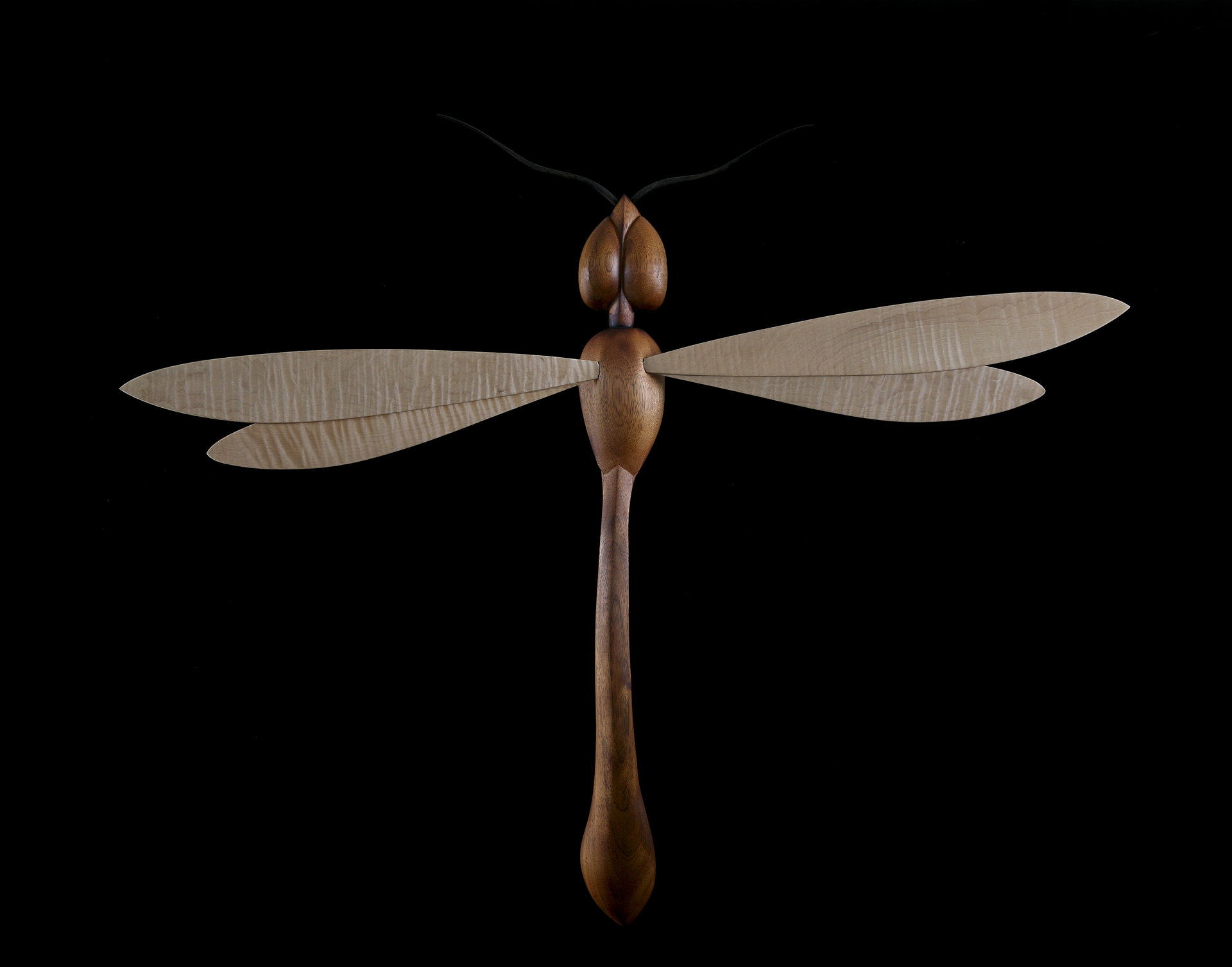 Contemporary Dragonfly Sculpture