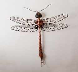 Dragonfly Sculpture in wood