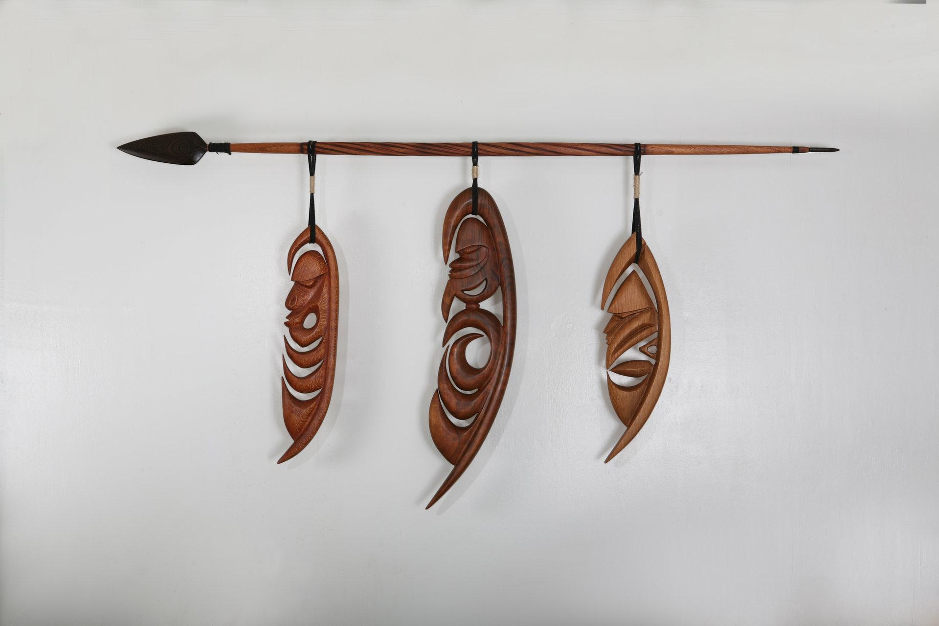 Hanging Yipwon Spirit Figures