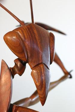 Praying Mantis sculpture