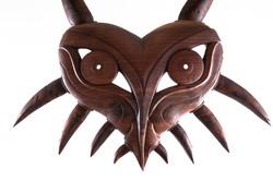 Wooden Majora's mask / Haida mask
