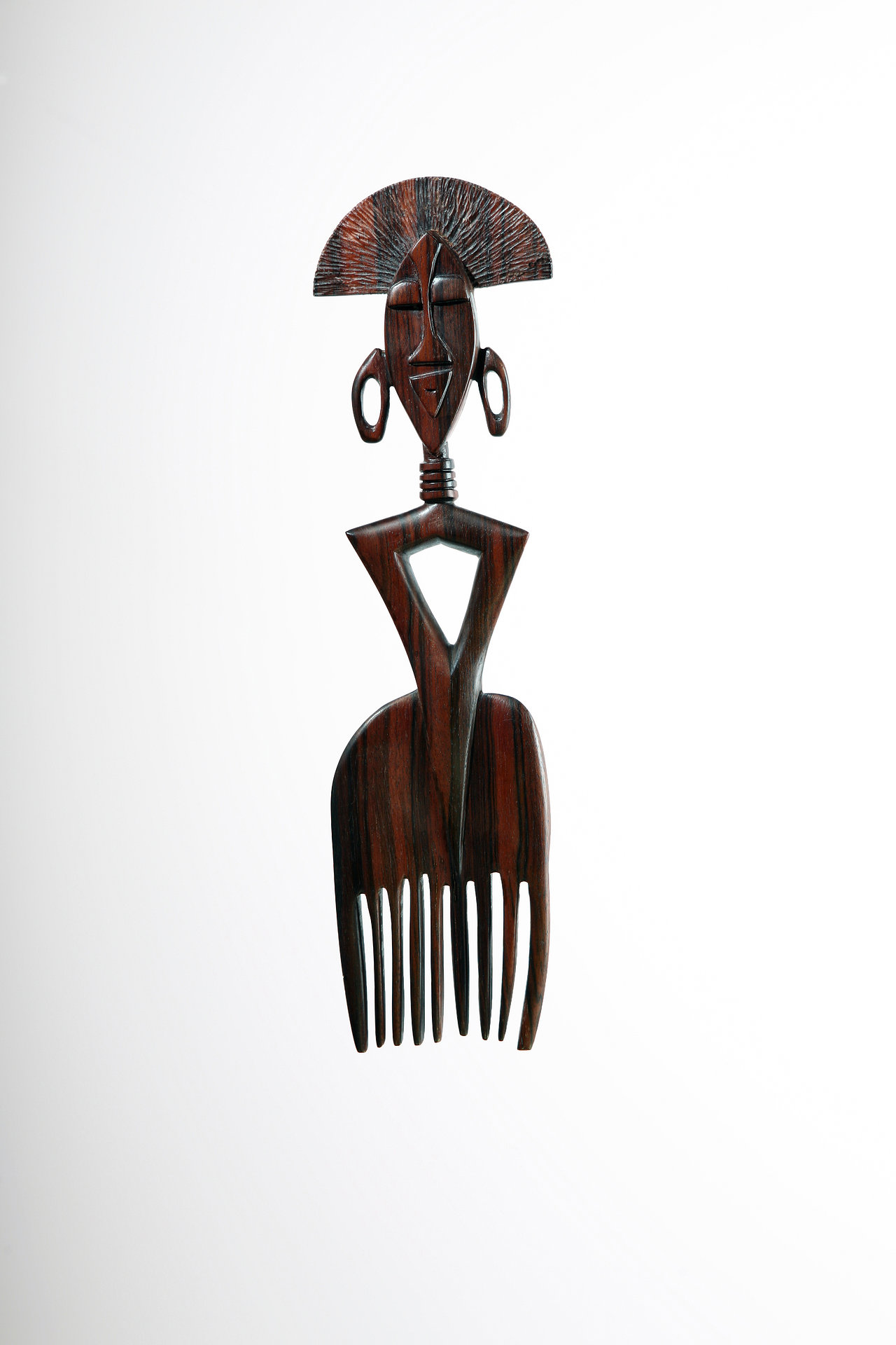 Stylized African comb