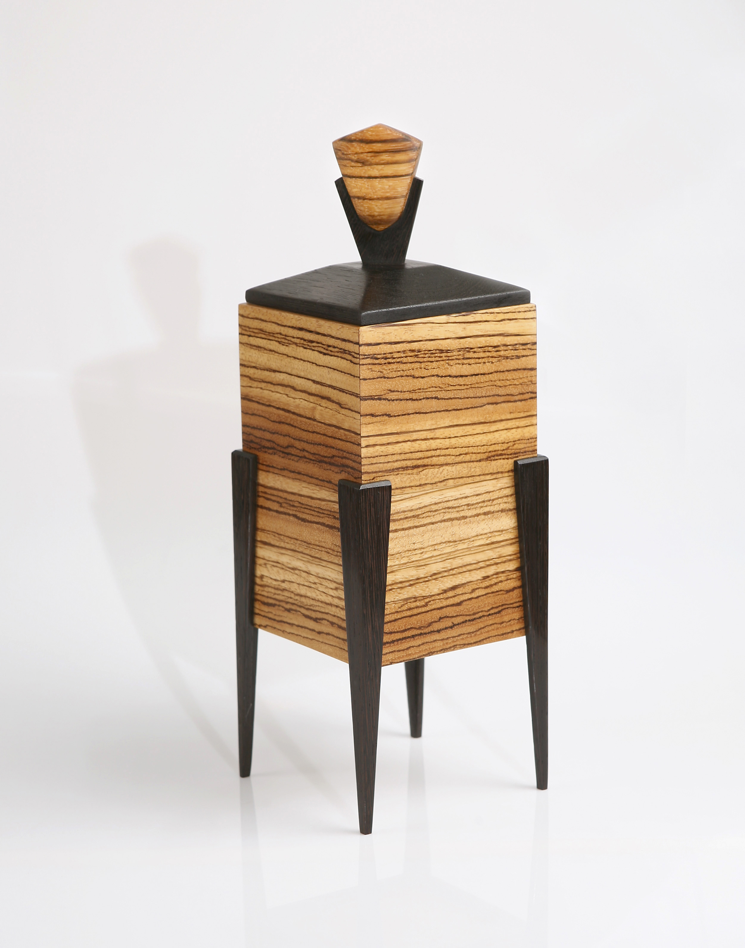 Zebrawood jewelry box
